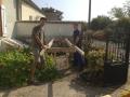 Construction de la brouette géante (1)
