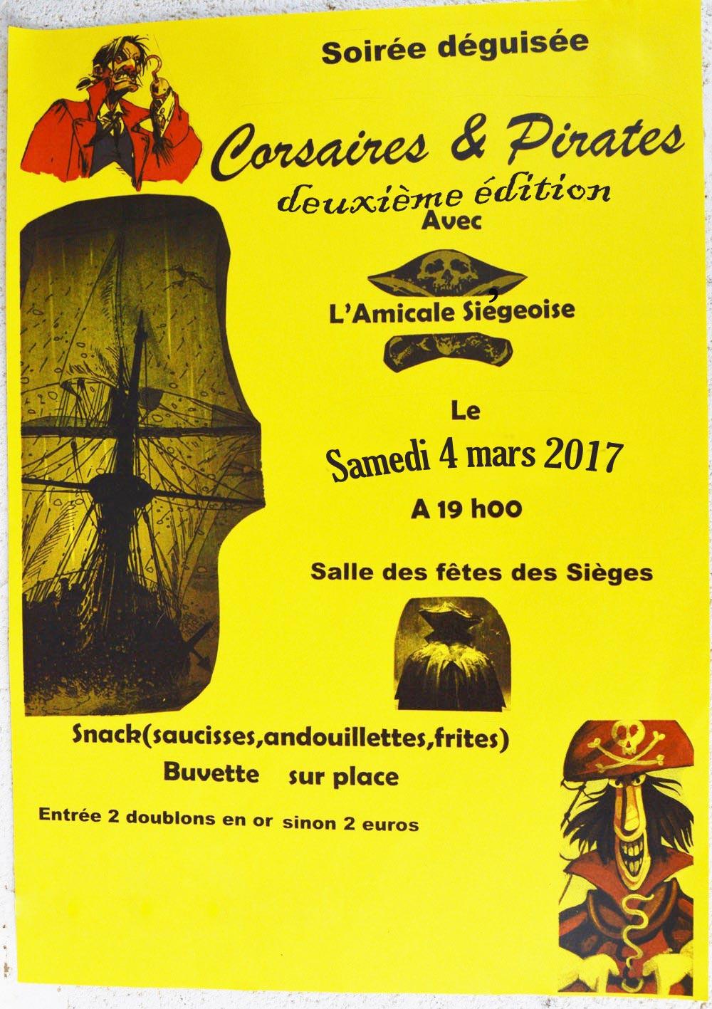 Corsaires et Pirates 2017